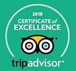 Certificate of Excellence für Villa Elben von tripavisor